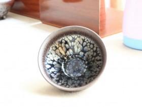 李昌海油滴鹧鸪斑:口8.8高4.6