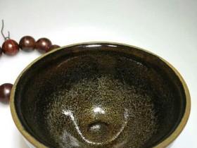 九龙窖危敏捷柴烧:口9.4高5.3