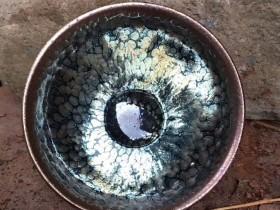 李左文师傅,紫金油滴,口径8.3高4.3