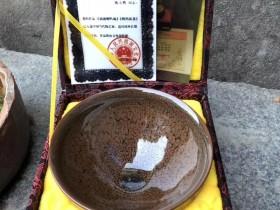 陈大鹏老师 鹧鸪斑茶盏、直径12.5、极品束口标准盏