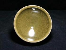 赖远华师傅作品——窑变茶末釉!完美品相! 口径9.8高5.9