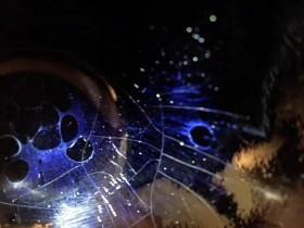 迄今为止建盏复烧以来柴窑唯一出现一只局部曜变釉面斑纹建盏由张中钦烧制出