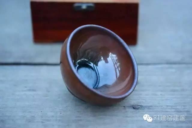 浅谈如何辨别柴烧建盏和电烧、气烧建盏