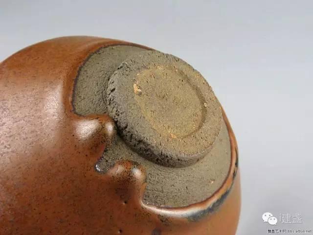 柿子红建盏,仿旧宋盏造假者的最爱,你知道原因是什么吗?