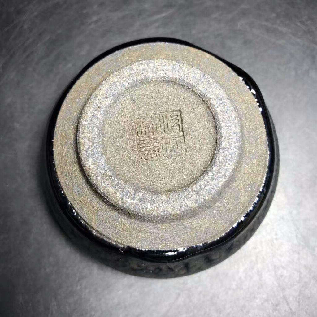 李昌海师傅,新品-油滴钵,口径8.5高4.5