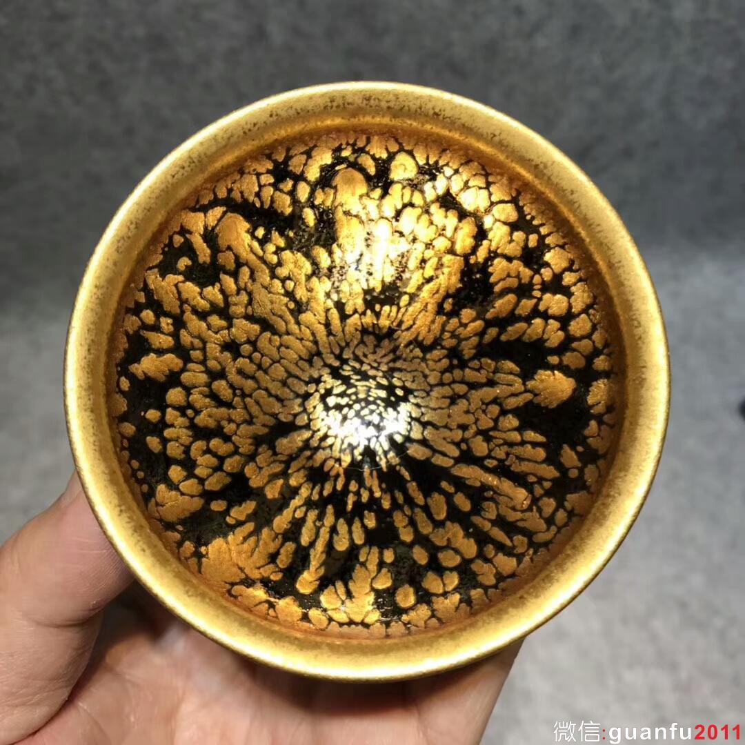 范泽锋大师 精品 金油滴:口径8.2*5.8