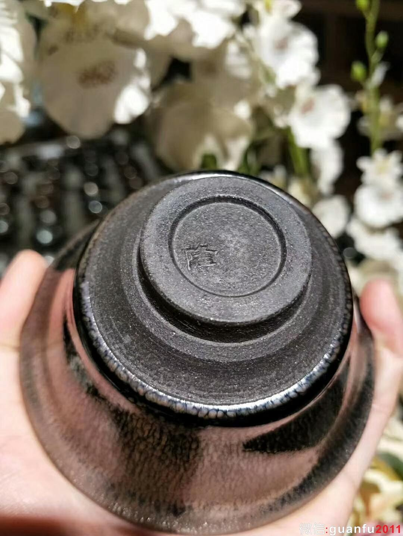苏天培师傅 油滴盏:口径8.5*4.5