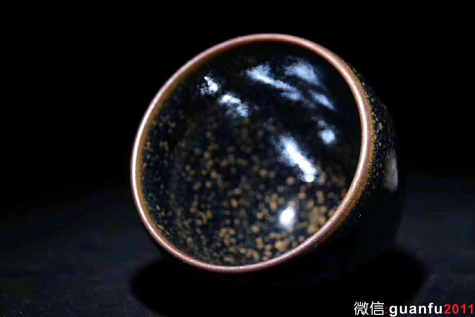 廖铭老师 夜幕 闻香杯6.5X6.8