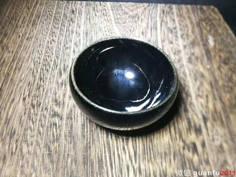 张中钦乌金盏 口径:7.0  高:4.3