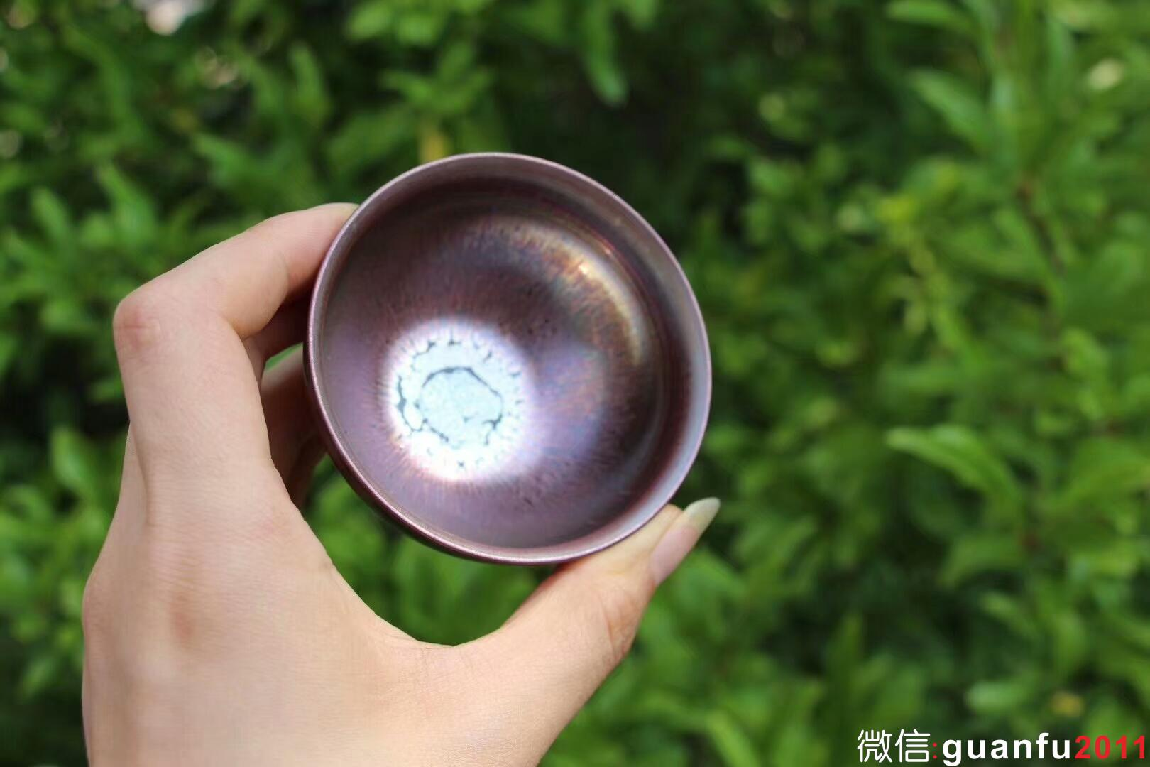 《紫意》对杯 郑勇手作