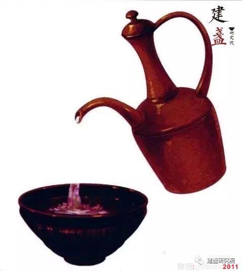 建盏在宋代就很有名?关于宋朝流行的点茶法又是怎么一回事?