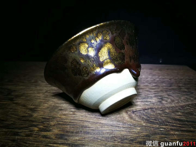黄美金  金盏 口径:9.8  高:5.0
