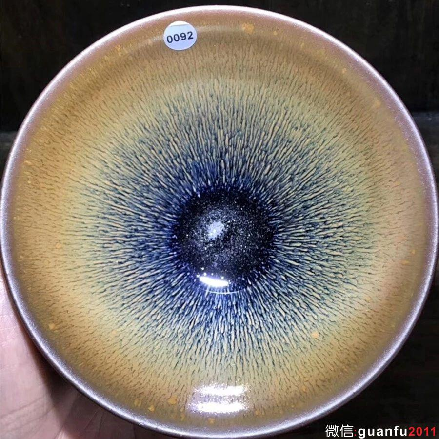 建盏的釉色深度分类!