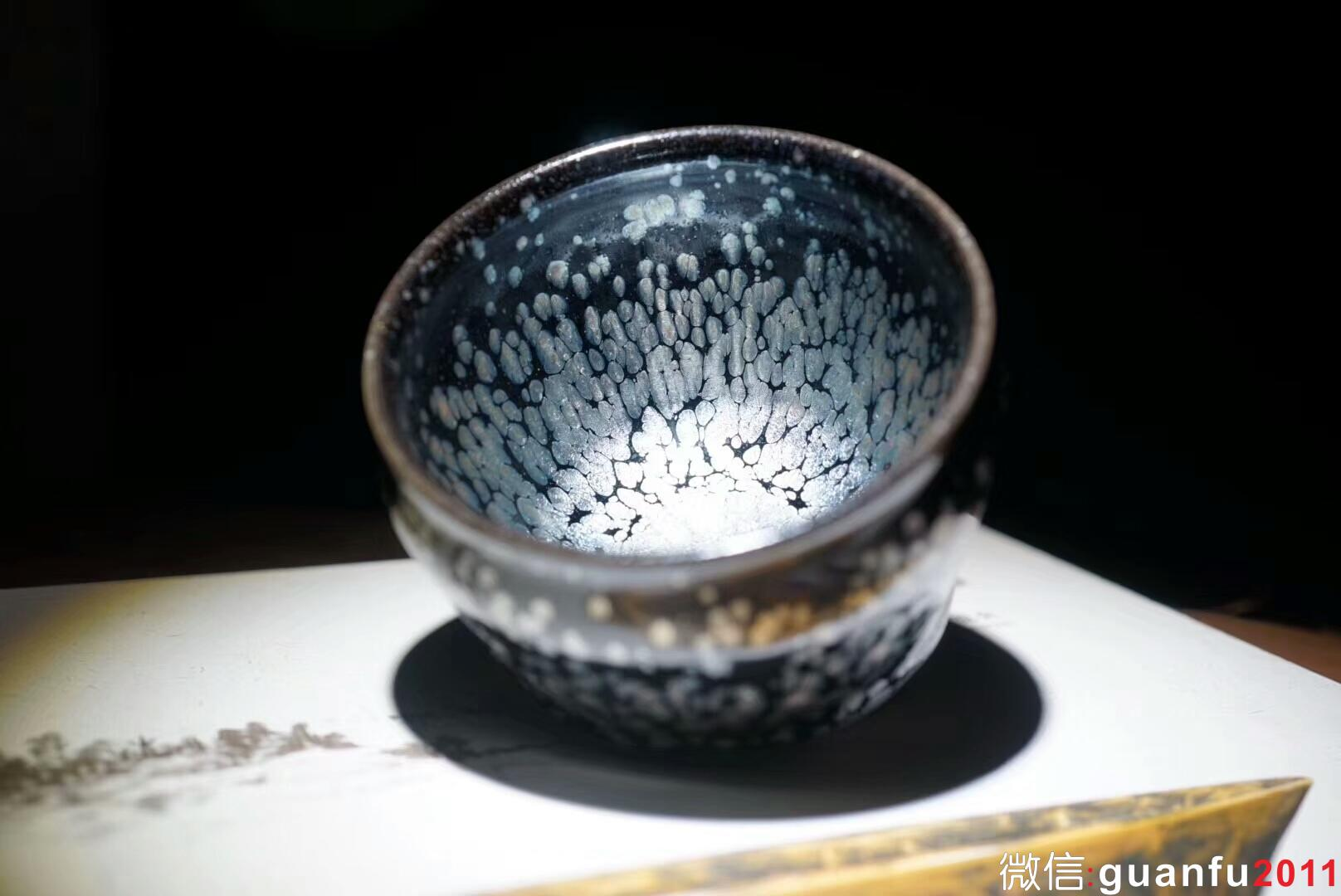 李英•岁月  手工盏 将军杯•9.3×6.7
