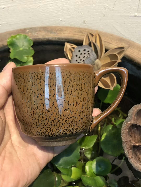 早期 出口 创造外汇的产品  陈大鹏老师 鹧鸪斑把杯子