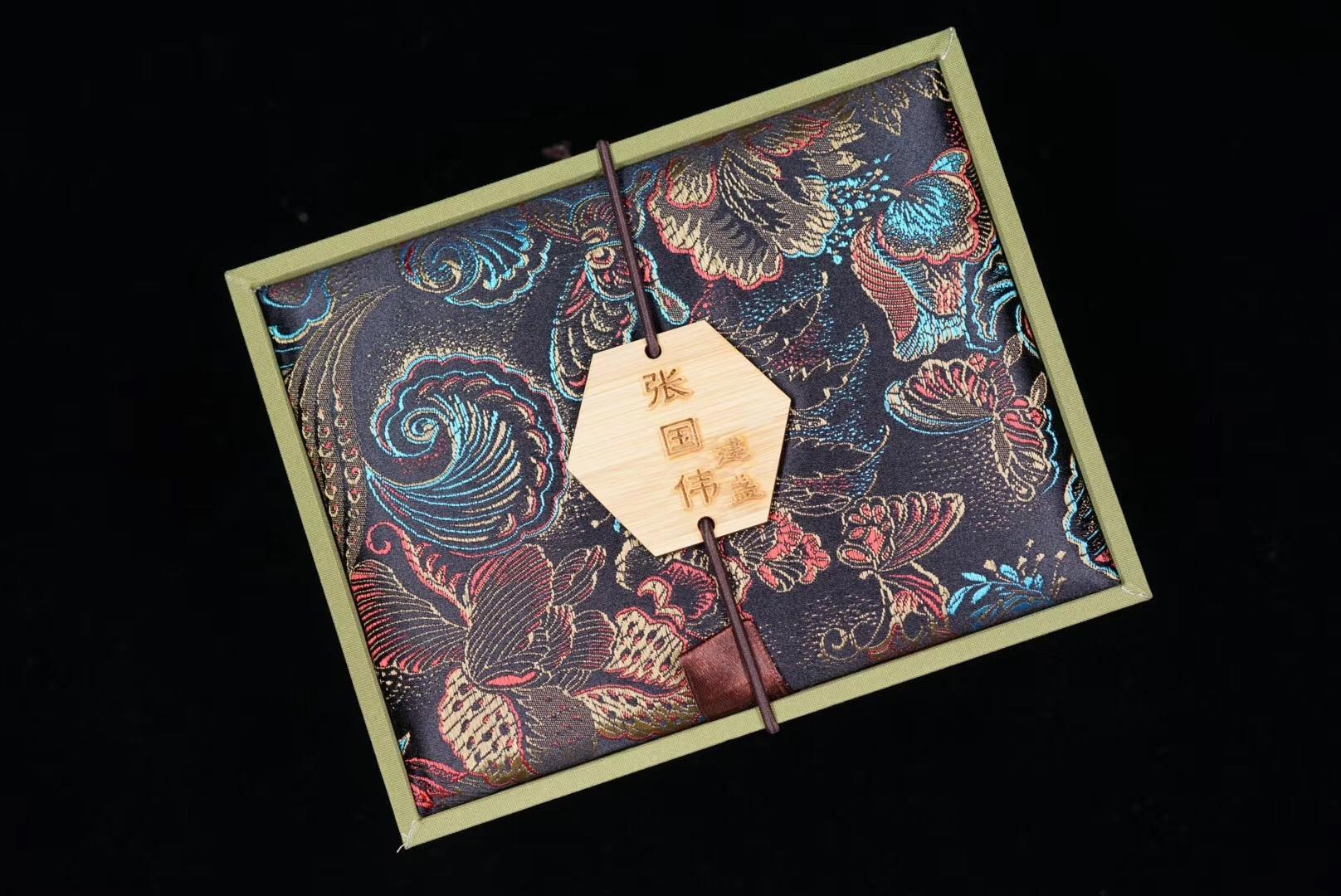 粉金粉金的 惜蕊•张国伟作品  卧足钵器型 9.0×6.0cm