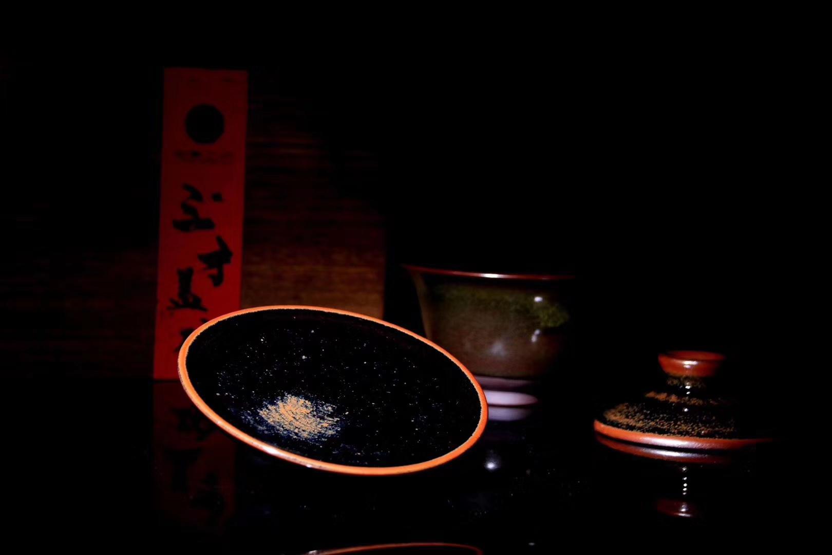 李盏造器 • 始终如一李远兴老师  龙窑柴烧 手工盖碗