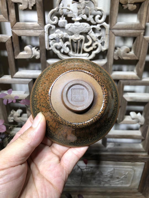 珍藏版 10.5(三色鹧鸪斑)  稀有价格高  陈大鹏老师作品